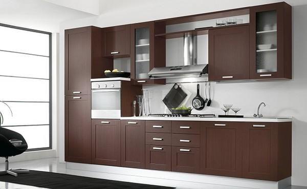Donde estamos for Muebles de cocina de madera modernos